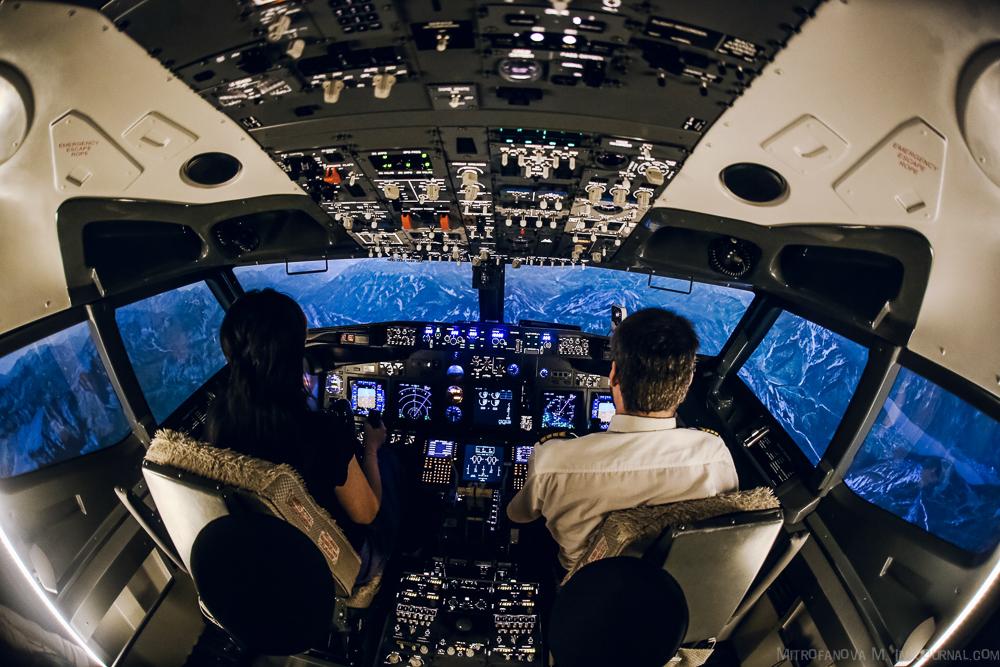 Полёт на авиатренажёре  Boeing 737 NG от Dream Aero