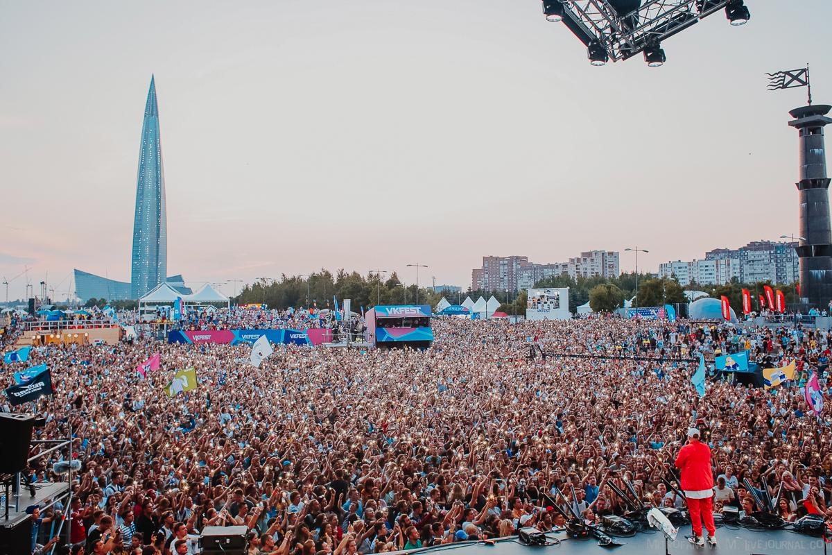 БАСТА - 28/07/2018, VK fest