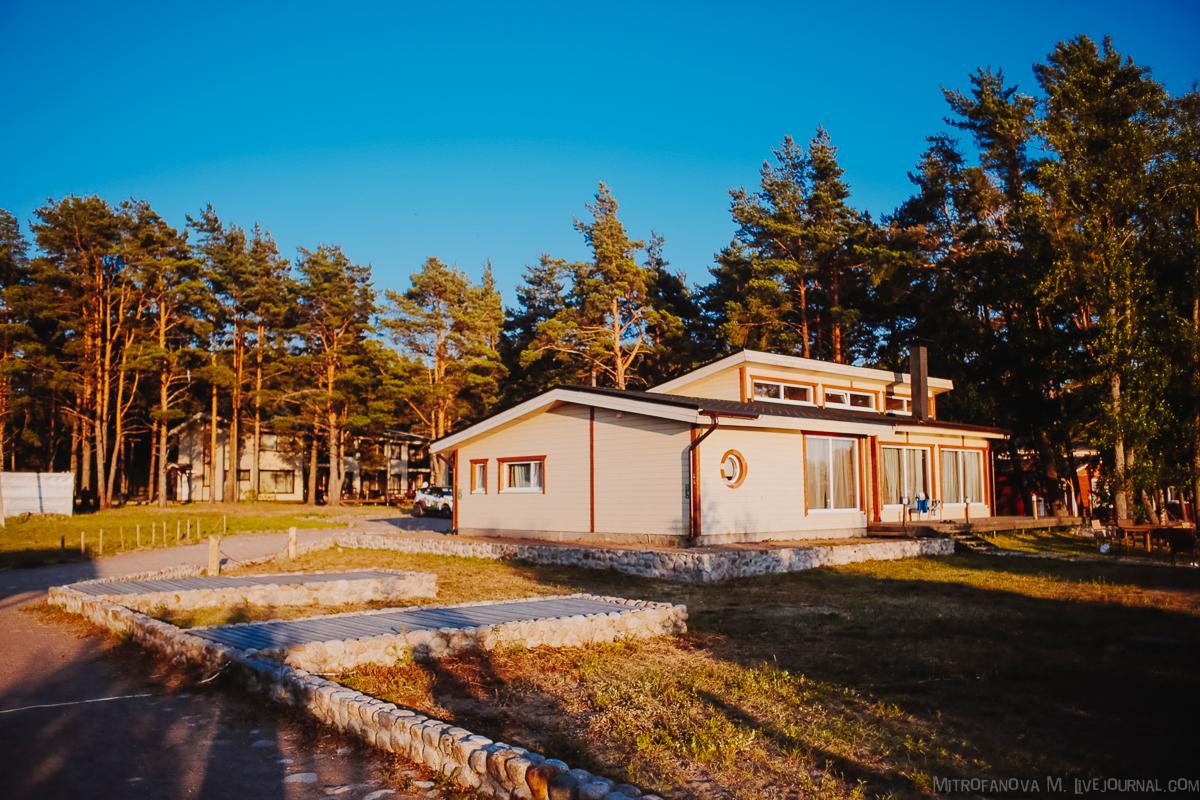 """База отдыха """"Окуневая"""" на Финском заливе"""