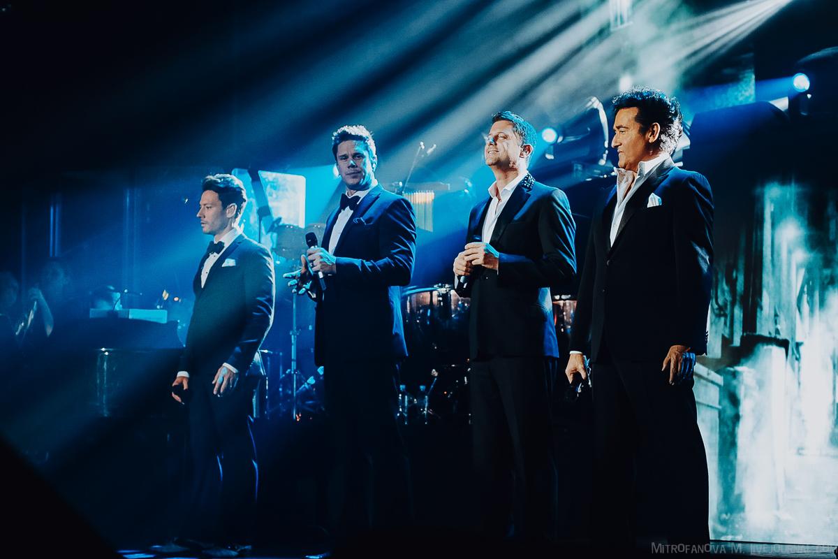 NCA Music Awards и IL DIVO - 03/11/2018, Ледовый Дворец