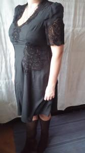 Черное,шелковое платье7000р