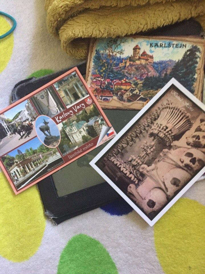 как отправить открытку в россию из праги разбит