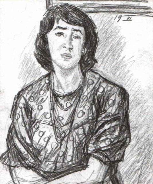 Рисунок Ахмата Лутфуллина