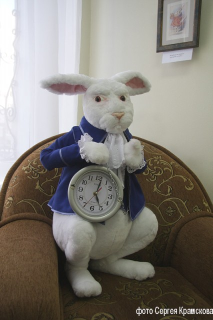 Белый Кролик. Алиса в стране чудес....