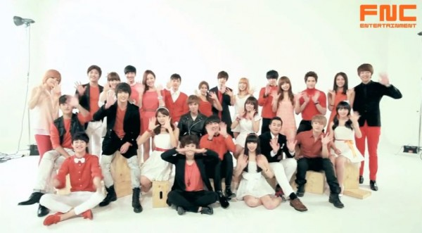 FNC New Year Photo