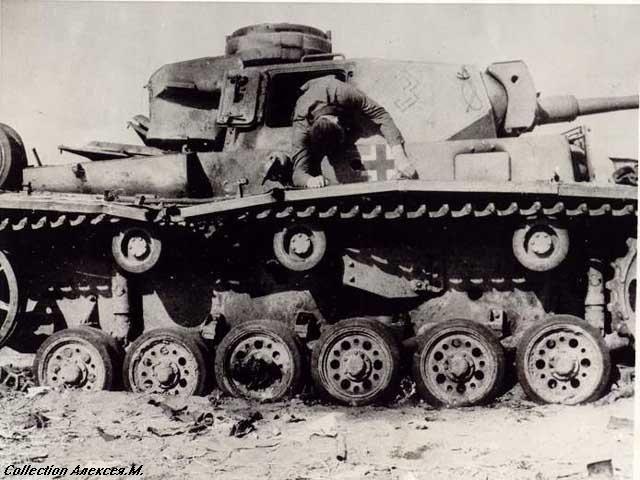 10 уничтоженный немецкий танк