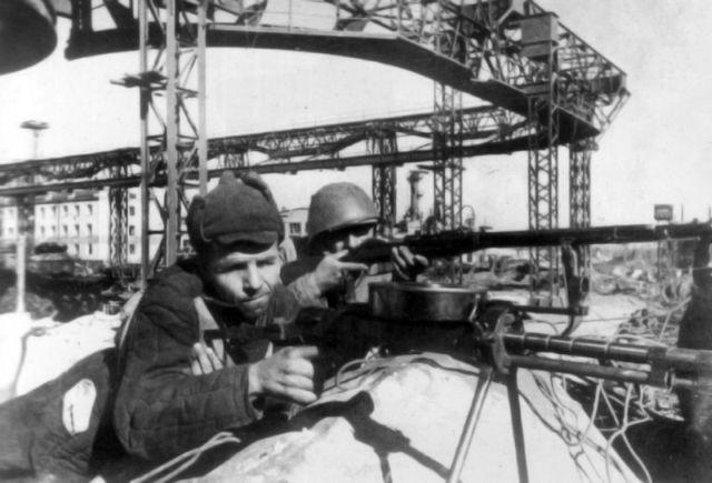13 бойцы 56-го полка НКВД