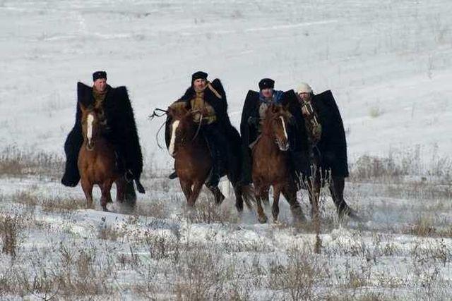 3 4-й Кубанский корпус  ведёт наступление на Ростов Реконструкия