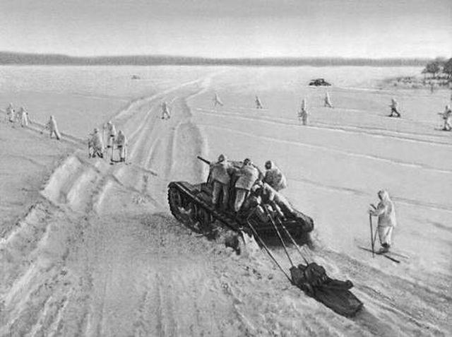 4 Советские штурмовые подразделения атакуют