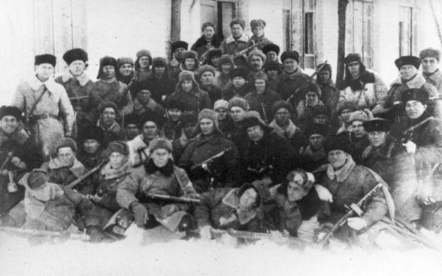 6 ОТРЯД 159-й стрелковой бригады в Ростове февраль 1943