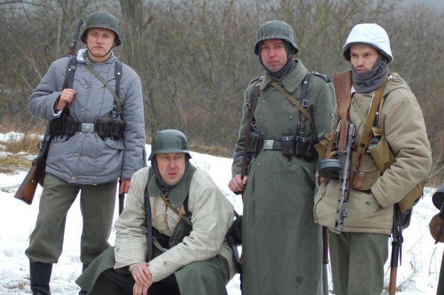 7 группа пехотинцев Росовского гарнизона Реконструкция 2014