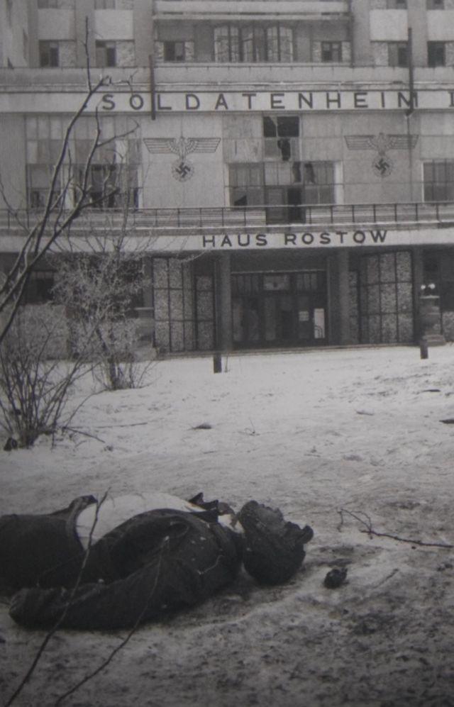 8 Убитый немец на Будёновском пр-те февраль 1943