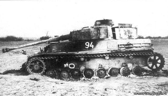 5 разбитый немецкий танк