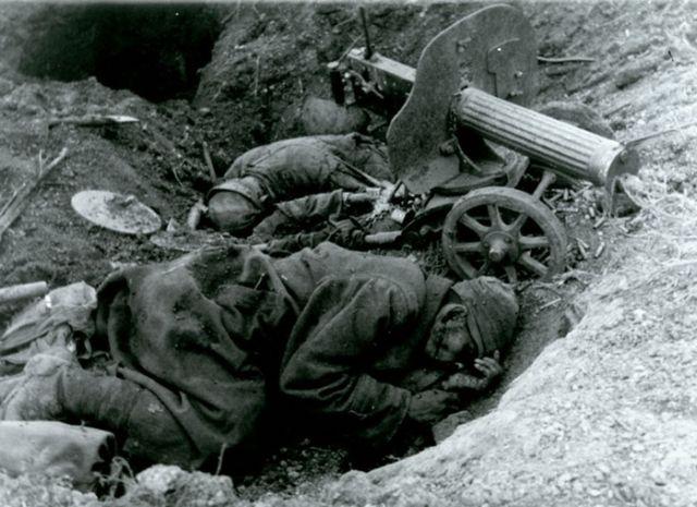 8 погибшие бойцы Красной армии