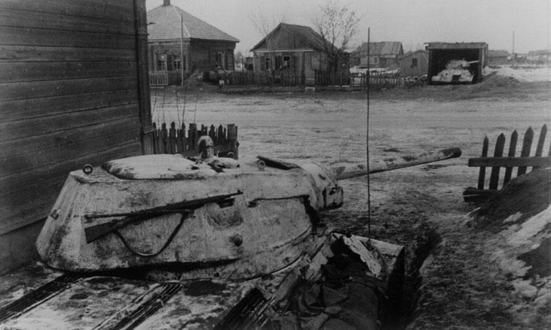 5 Спрятанные в засаде танки