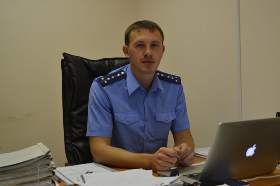 Тимофей ЩЕРБАКОВ, зам.прокурора Нерюнгри