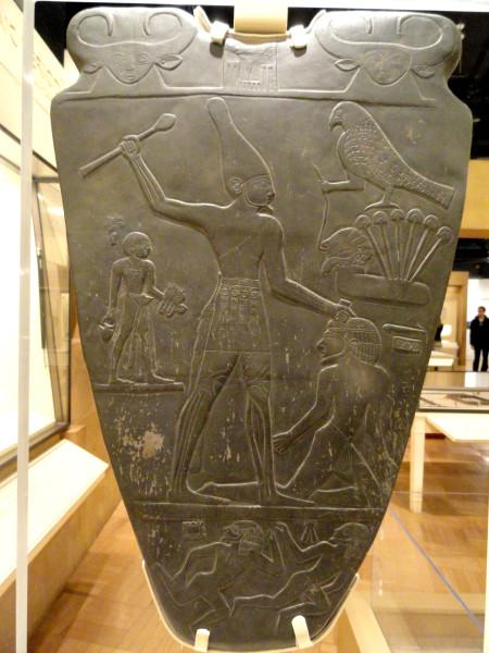 Narmer_Palette,_Egypt,_c._3100_BC_-_Royal_Ontario_Museum_-_DSC09726