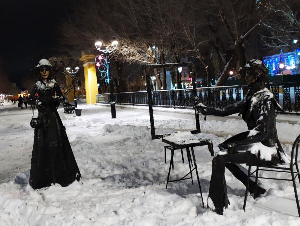 Городские скульптуры или как не начать заикаться от такой красоты.