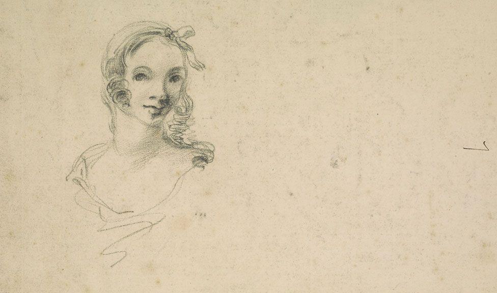 7-Возможно изображённая на рисунке девушка — это Маргарет Бёрр будущая жена Томаса Гейнсборо.jpg