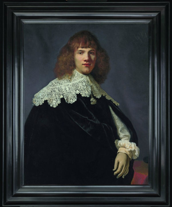 3-Портрет молодого джентльмена (около 1635) предположительно написанный Рембрандтом.jpg