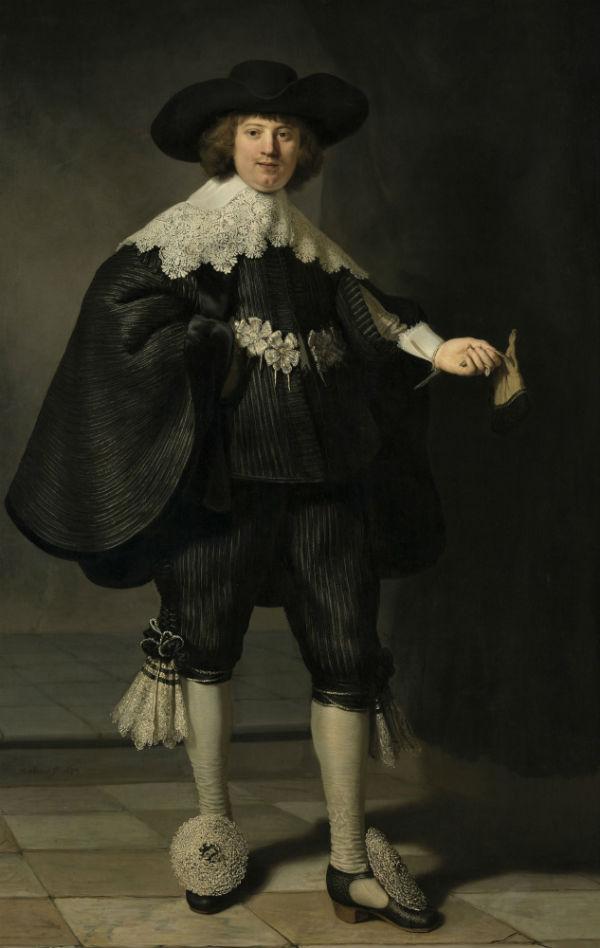 9-Рембрандт Харменс ван Рейн - Портрет Мартина Солманса - 1634 - Лувр.jpg