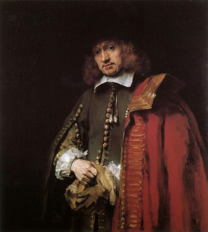 11-Рембрандт Харменс ван Рейн - Портрет Яна Сикса - 1654 - Собрание Сикса - Амстердам.jpg