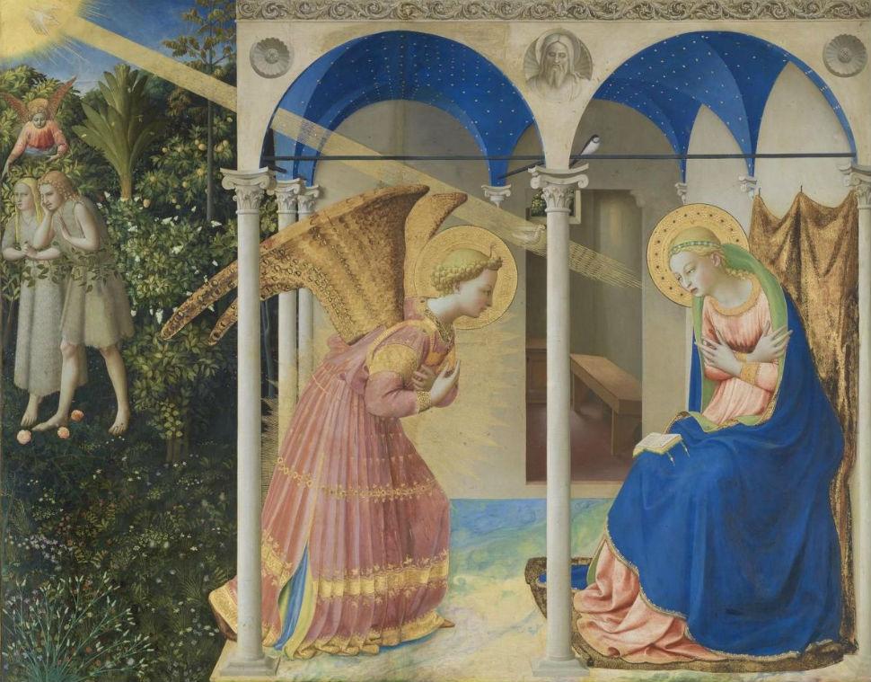 5-Фра Беато Анджелико - Благовещение - 1426.jpg