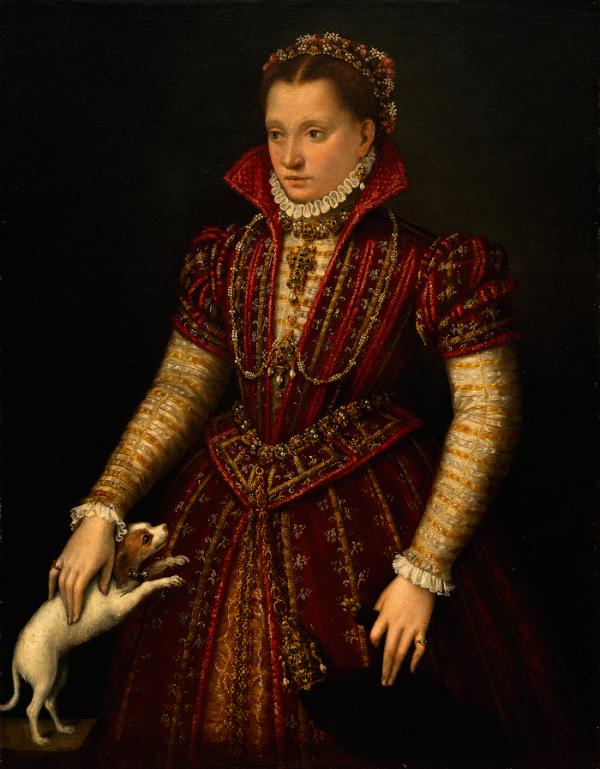 6-Лавиния Фонтана - Портрет дворянки - 1580.png