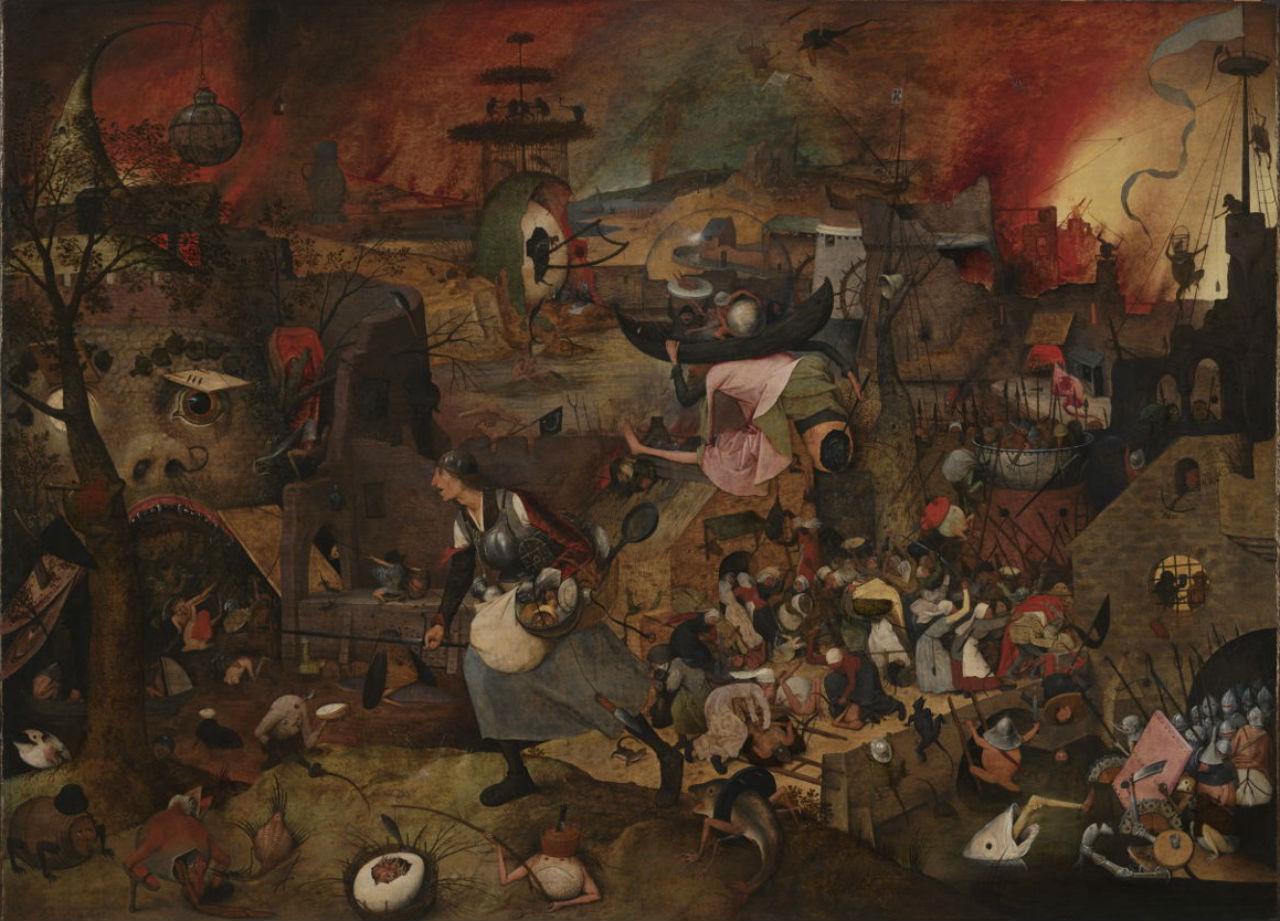 2-Питер Брейгель Старший - Безумная Грета - 1563.jpg