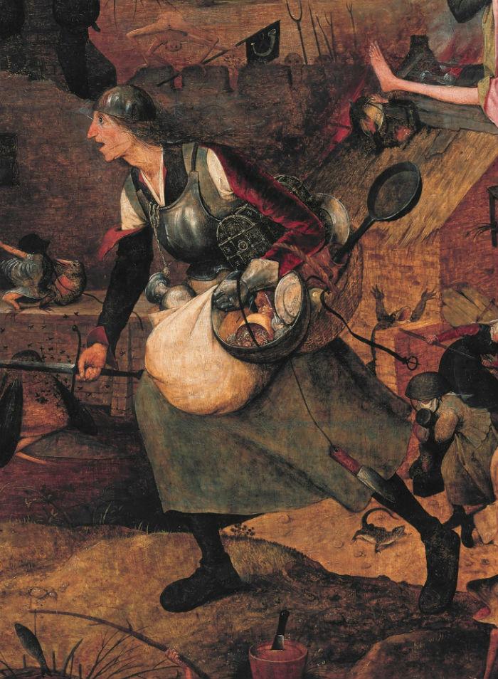 3-Питер Брейгель Старший - Безумная Грета - 1563 (фрагмент).jpg