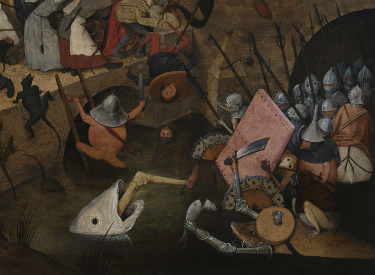 4-Питер Брейгель Старший - Безумная Грета - 1563 (фрагмент).jpg