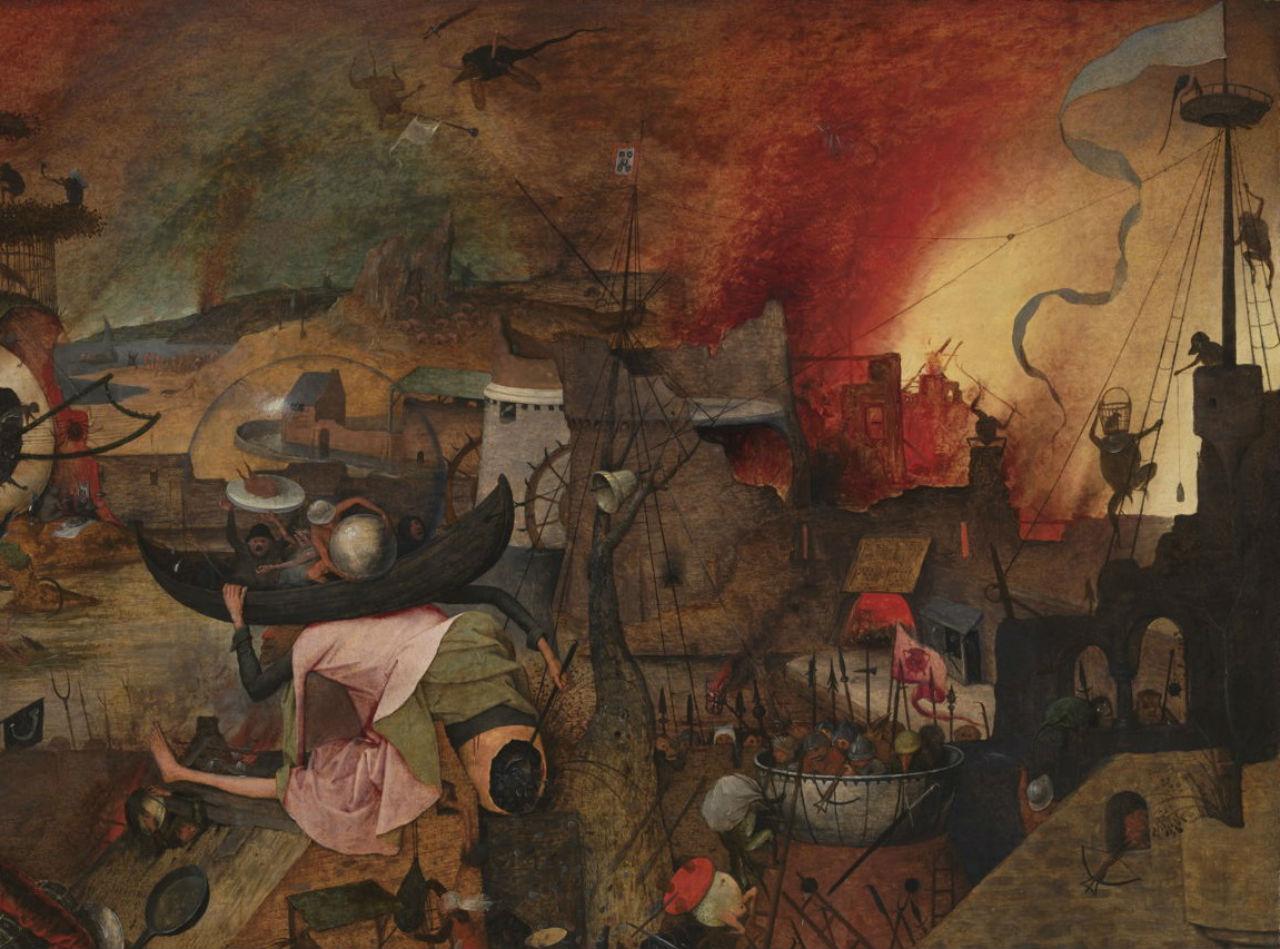 7-Питер Брейгель Старший - Безумная Грета - 1563 (фрагмент).jpg