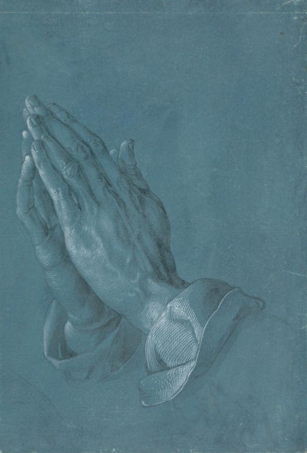 2-Альбрехт Дюрер - Руки молящегося (Руки апостола) - 1508.jpg