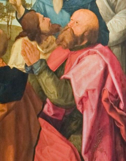 4-Альбрехт Дюрер  - Алтарь Геллера (Алтарь Вознесения Марии) - 1500-е (фрагмент).jpg