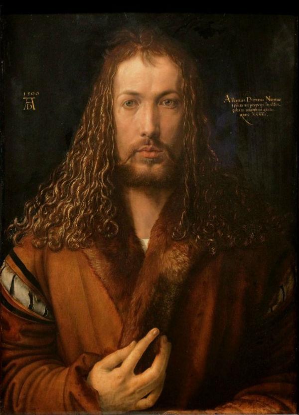 5-Альбрехт Дюрер  - Автопортрет - 1500.jpg