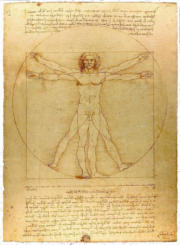 8-Леонардо да Винчи - Витрувианский человек.jpg