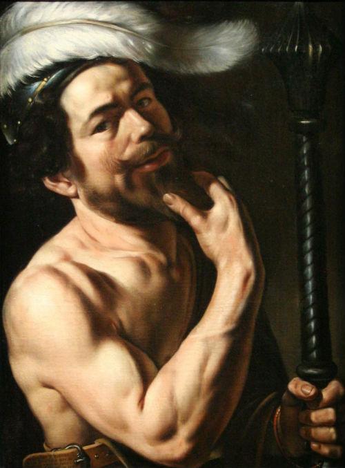 4-Луи Финсон - Автопортрет (1613) - Музей изящных искусств Марсель.jpg