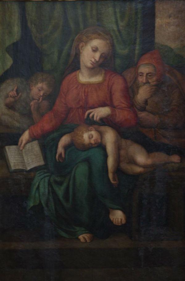 2-Работа неизвестного мастера которая потенциально может быть утраченной картиной Микеланджело «Мадонна Безмолвия».jpg