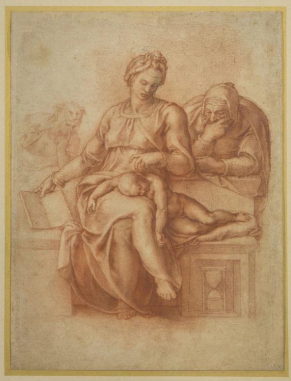 3-Микеланджело Буонарроти - Мадонна Безмолвия - 1538.jpg