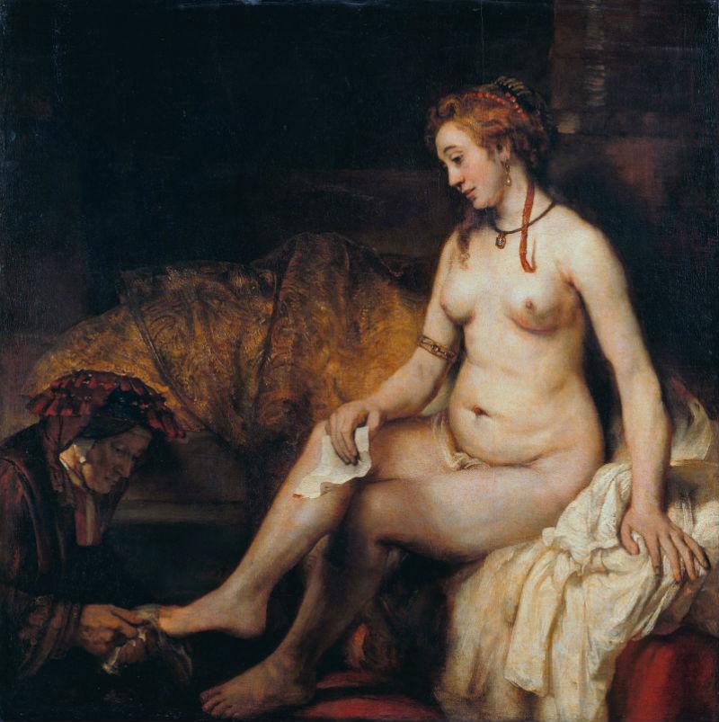 3-Вирсавия с письмом царя Давида - 1654.jpg