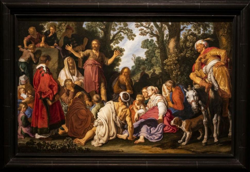 Питер Питерс Ластман - Проповедь Иоанна Крестителя - 1627 - 2.jpg
