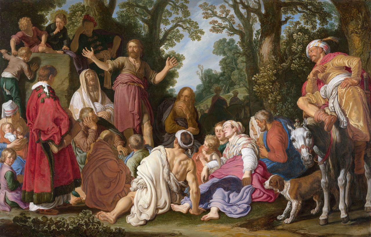 Питер Питерс Ластман - Проповедь Иоанна Крестителя - 1627.jpg