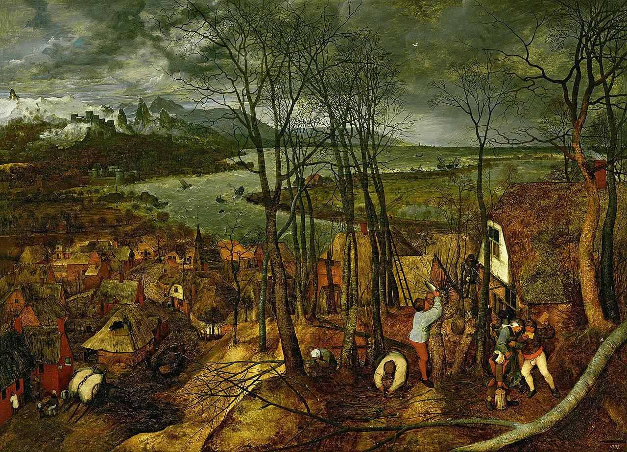 Питер Брейгель Старший - Сумрачный день - 1565 - Музей истории искусств - Вена.jpg