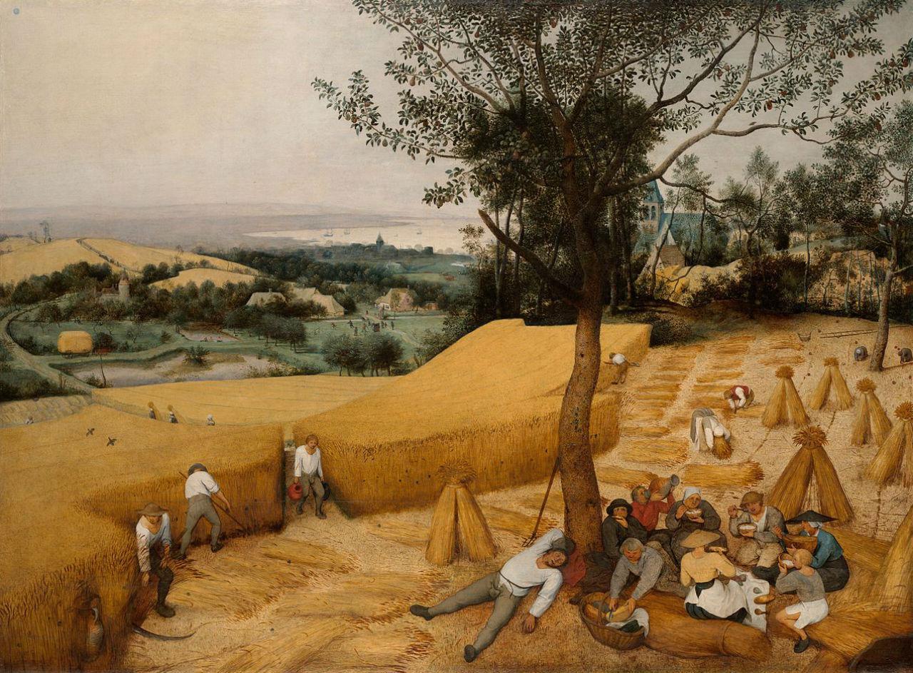Питер Брейгель Старший - Жатва - 1565 - Музей Метрополитен - Нью-Йорк.jpg