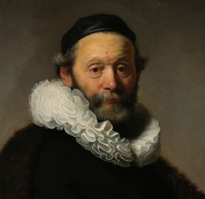 Рембрандт Харменс ван Рейн - Портрет Иоганнеса Втенбогарта (фрагмент).jpg