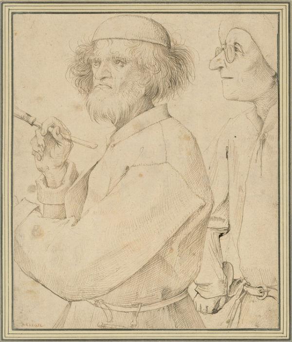 Питер Брейгель Старший - рисунок Художник и знаток - музей Альбертина - Вена_.jpg