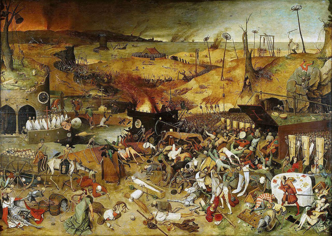 Питер Брейгель Старший - Триумф смерти - 1562 - Прадо - Мадрид.jpg