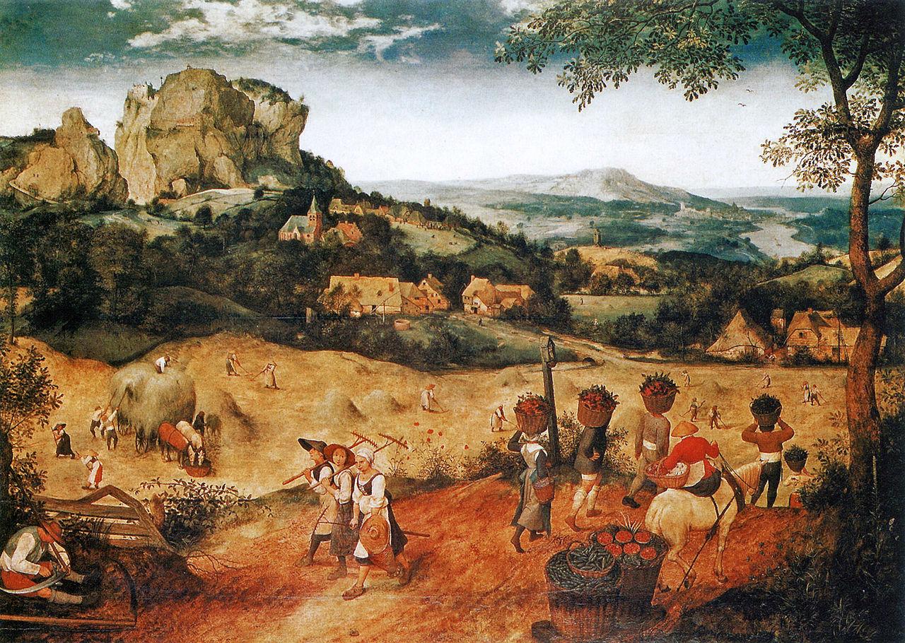 Питер Брейгель Старший - Сенокос - 1565 - Лобковицкий дворец - Прага.jpg
