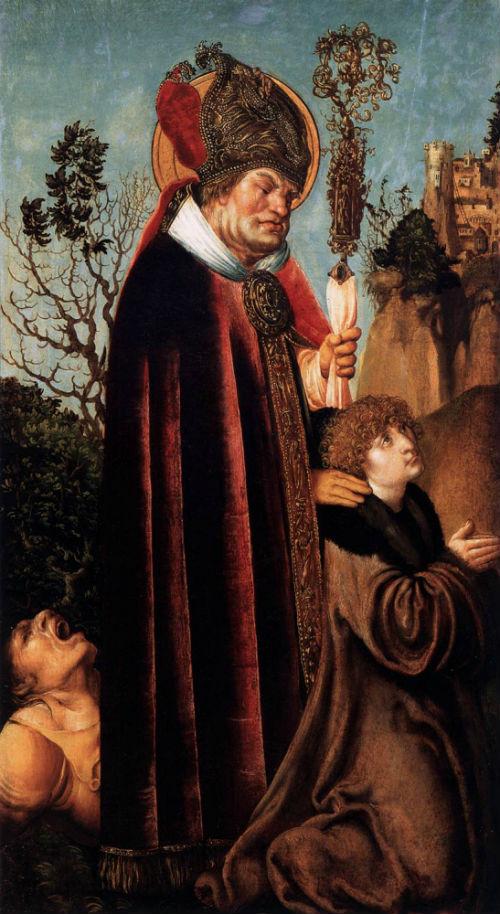 2-Лукас Кранах Старший - Святой Валентин с жезлом - 1503.jpg
