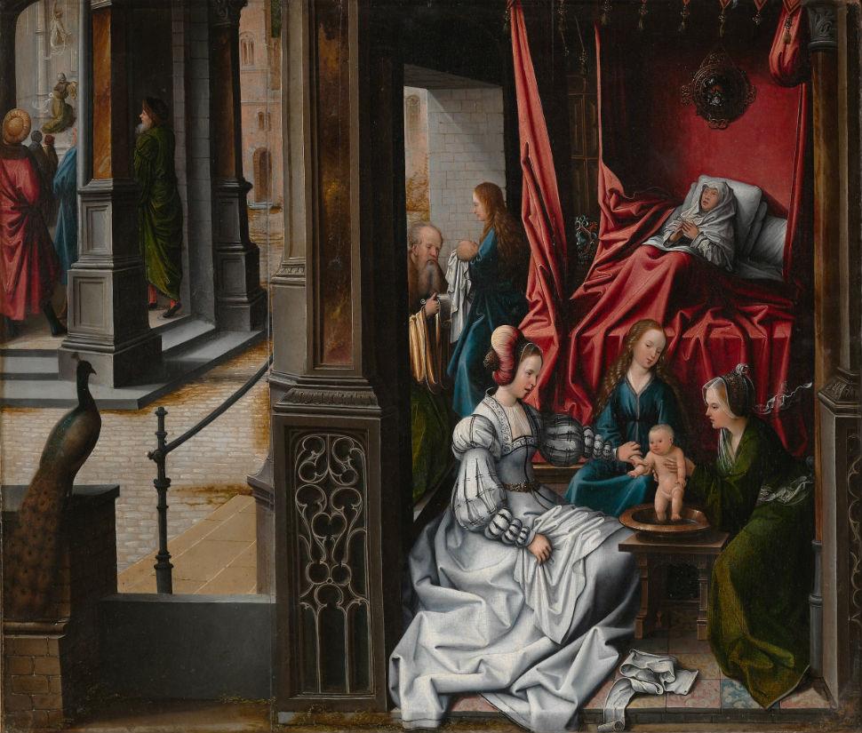8-Рождение и наречение Святого Иоанна Крестителя - 1515.jpg